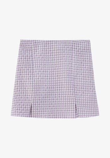 Áčková sukně - dark purple