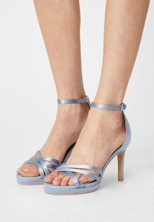 XENIA - Sandals - light blue
