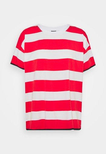 AHMOO - T-Shirt print - classic red