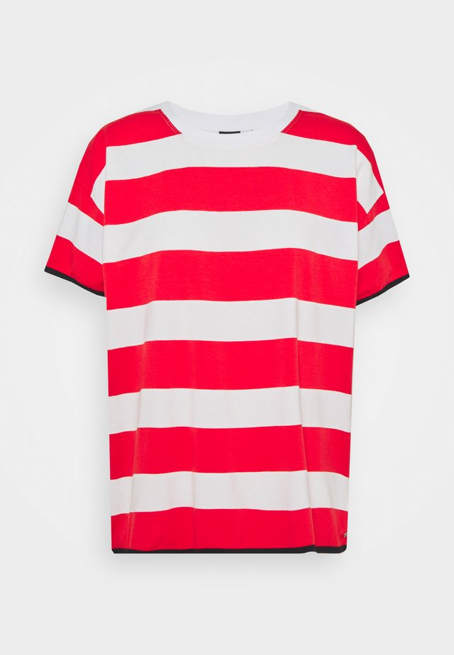 AHMOO - T-shirt imprimé - classic red