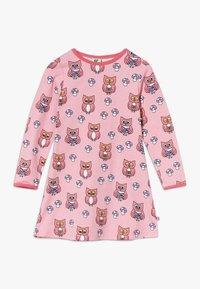 Småfolk - DRESS OWL - Jersey dress - sea pink - 0
