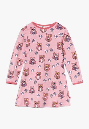 DRESS OWL - Jersey dress - sea pink