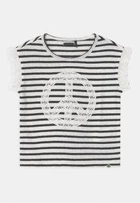 IKKS - MARINIERE - Print T-shirt - blanc cassé - 0