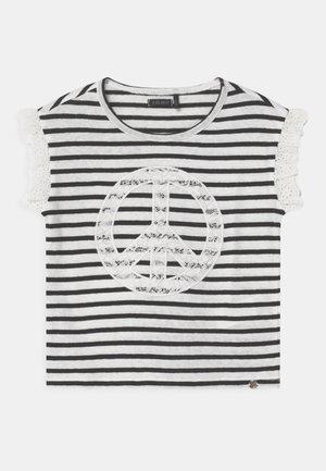 MARINIERE - T-shirt med print - blanc cassé