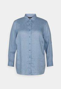 Lauren Ralph Lauren Woman - KARRIE LONG SLEEVE - Button-down blouse - dust blue - 0