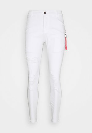 DISTRESSED FLIGHT - Jeans Skinny Fit - white