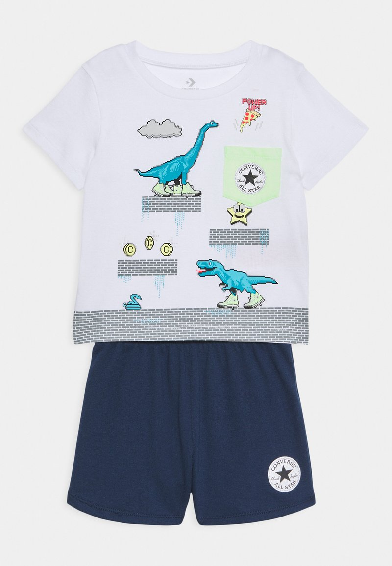 Converse - POCKET SET - Print T-shirt - obsidian