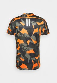 adidas Performance - RESPONSE PRIMEGREEN RUNNING SHORT SLEEVE TEE - T-shirts print - legacy green/signal orange - 1
