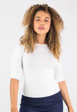 CHRISSIE - Print T-shirt - off-white