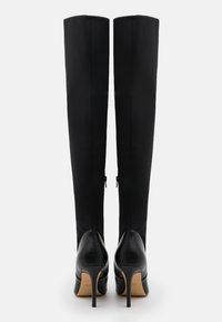 ALDO - IDEEZA - Overknee laarzen - black - 2