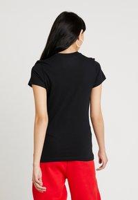 Nike Sportswear - W NSW TEE JDI SLIM - T-shirt z nadrukiem - black/white - 2