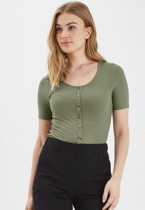 BYTOELLA TSHIRT2 - JERSEY - Print T-shirt - sea green