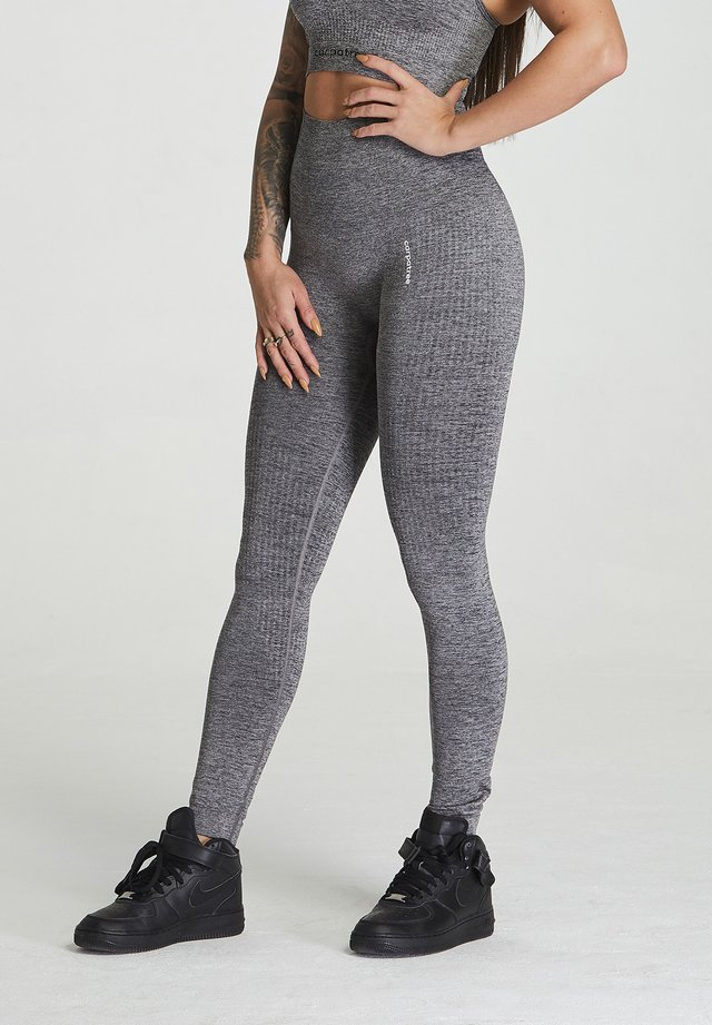 SEAMLESS LEGGINGS MODEL ONE - Legging - grey