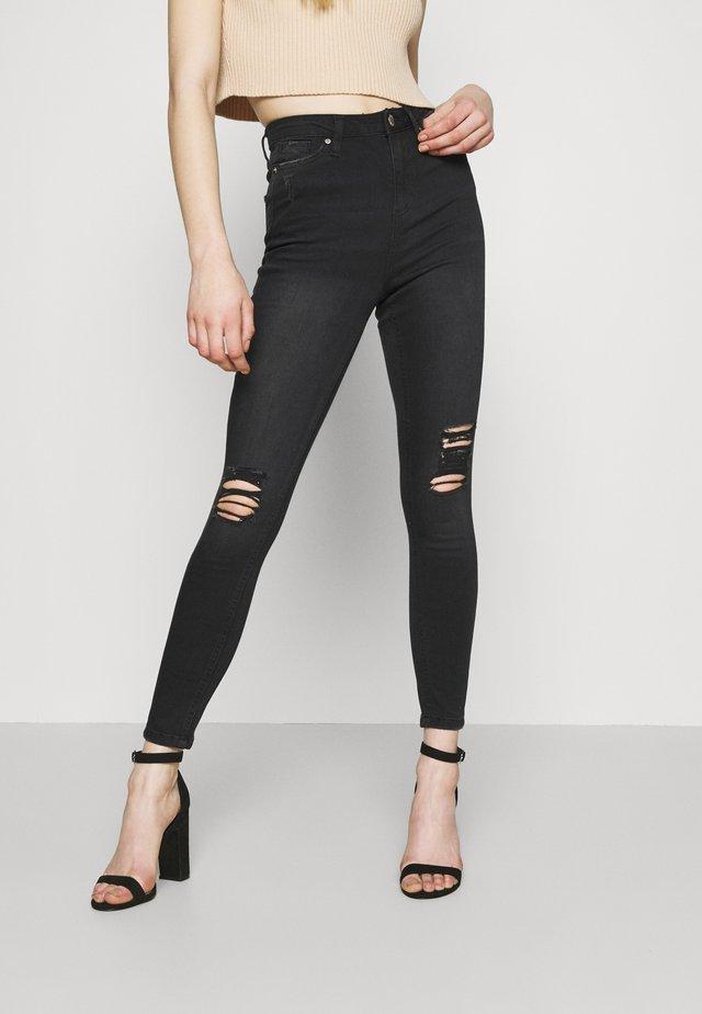 LIZZIE - Jeans Skinny Fit - washed black