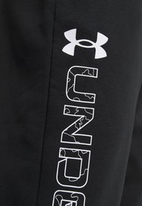 Under Armour - Træningsbukser - black/white