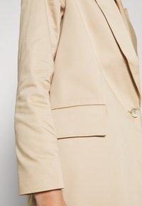 ALIGNE - Krótki płaszcz - stone - 5