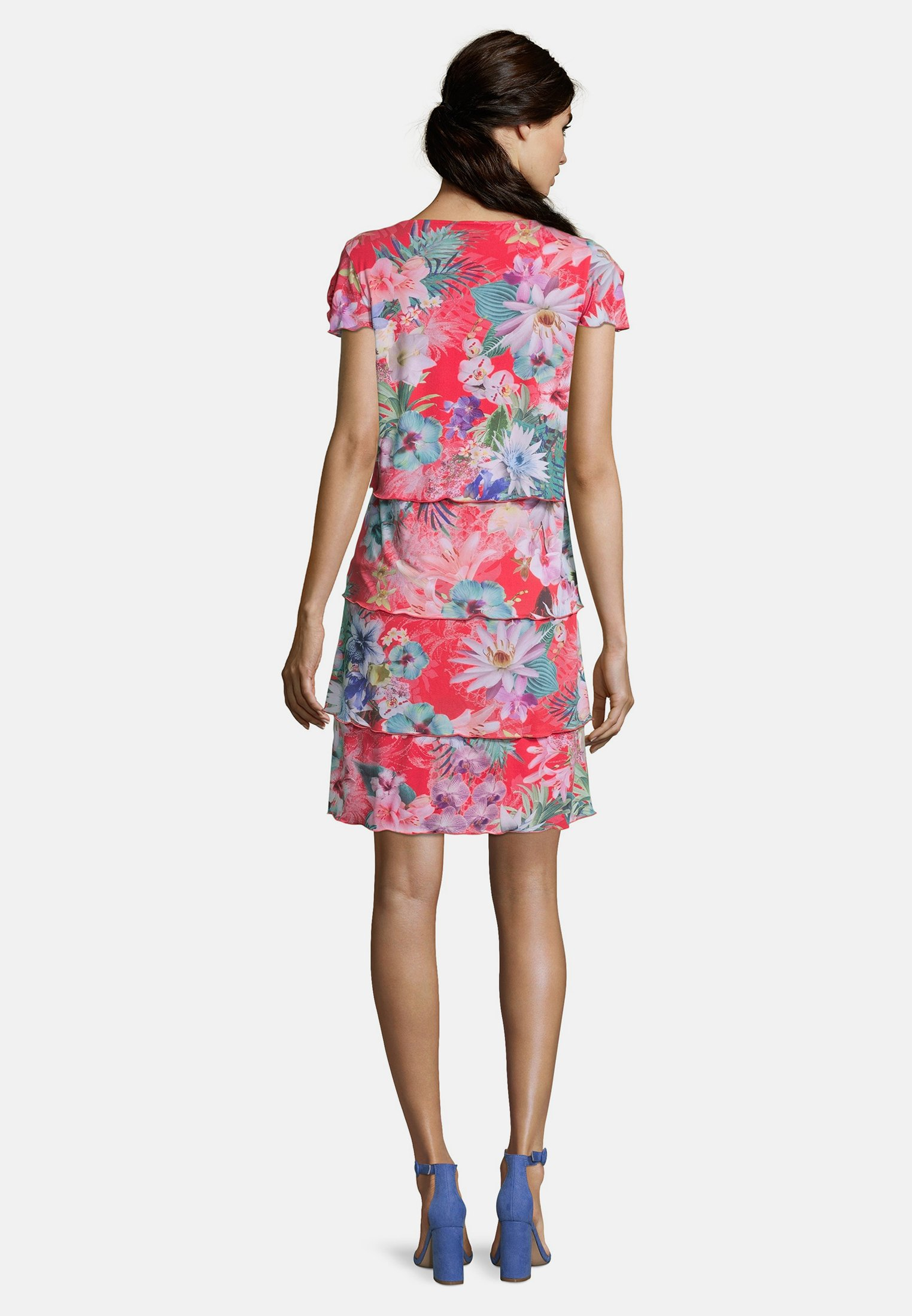Betty Barclay Freizeitkleid pink/dark blue/pink