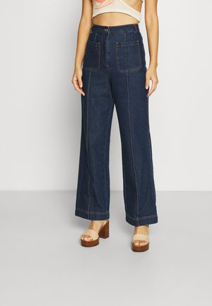THE AFTER DARK PANT - Relaxed fit jeans - denim