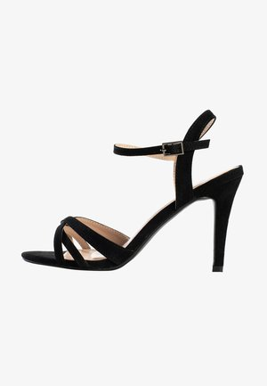 CIARA - Højhælede sandaletter / Højhælede sandaler - black
