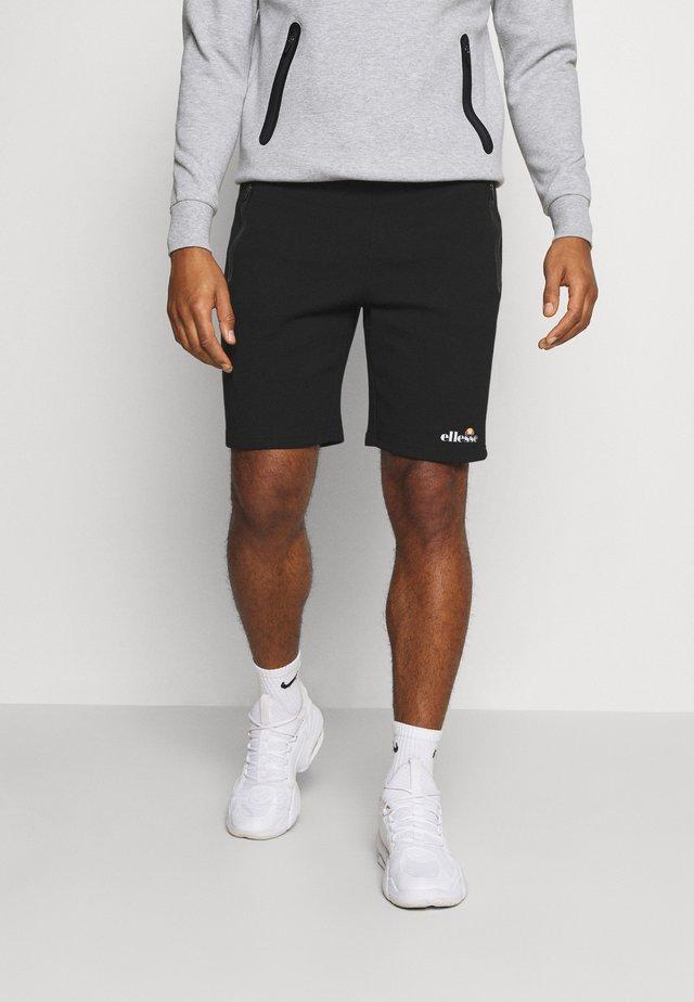 ASTERO SHORT - Short de sport - black