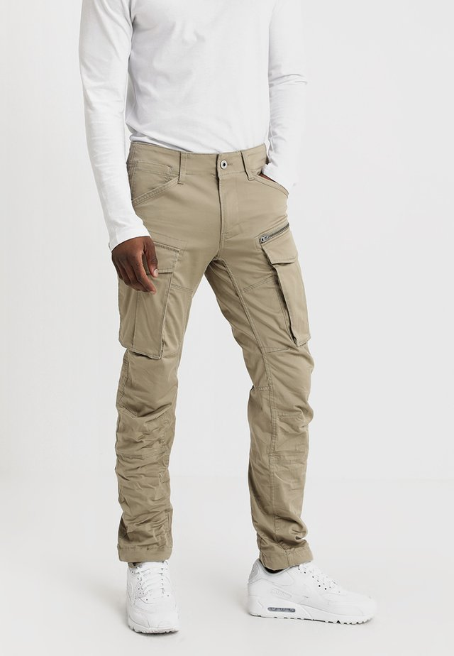 ROVIC ZIP 3D STRAIGHT TAPERED - Pantaloni cargo - dune