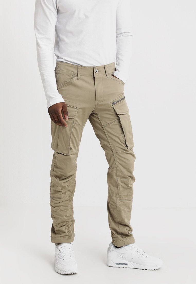 G-Star - ROVIC ZIP 3D STRAIGHT TAPERED - Cargo trousers - dune