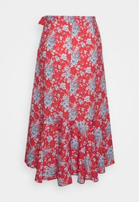 Rich & Royal - SKIRT WITH VOLANT - A-line skirt - summer red - 1