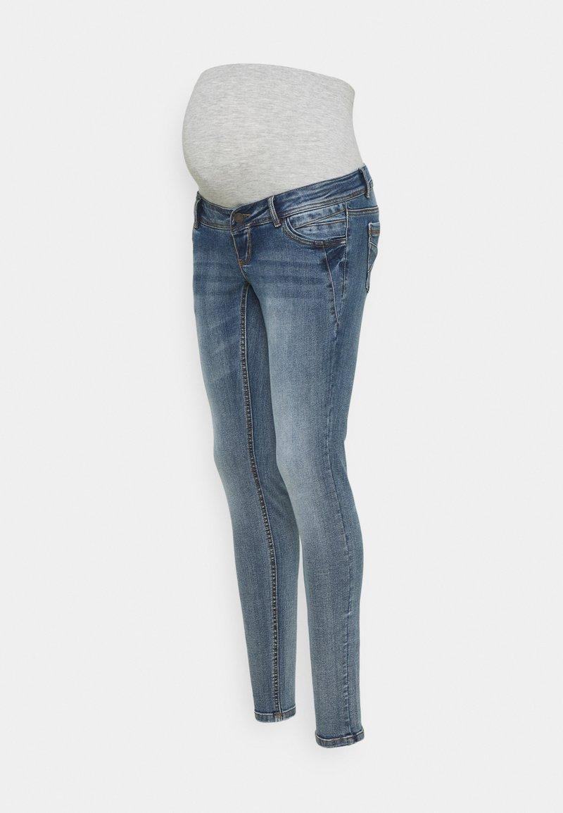 MAMALICIOUS - MLASJA - Slim fit jeans - blue denim