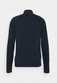 Banana Republic - UTILITY BUTTON - Cardigan - navy heather - 1