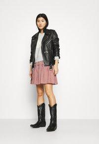 Madewell - SMOCKED MINI SKIRT  - Mini skirt - pale dawn - 1