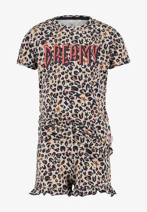 Pyjamas - multicolor brown