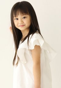 Rora - Korte jurk - white - 5