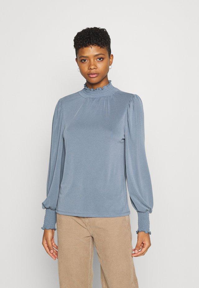 OBJLAYLA  - Maglietta a manica lunga - blue mirage