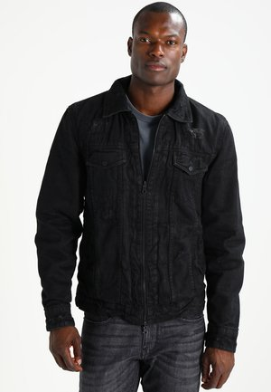 BENATE - Denim jacket - black