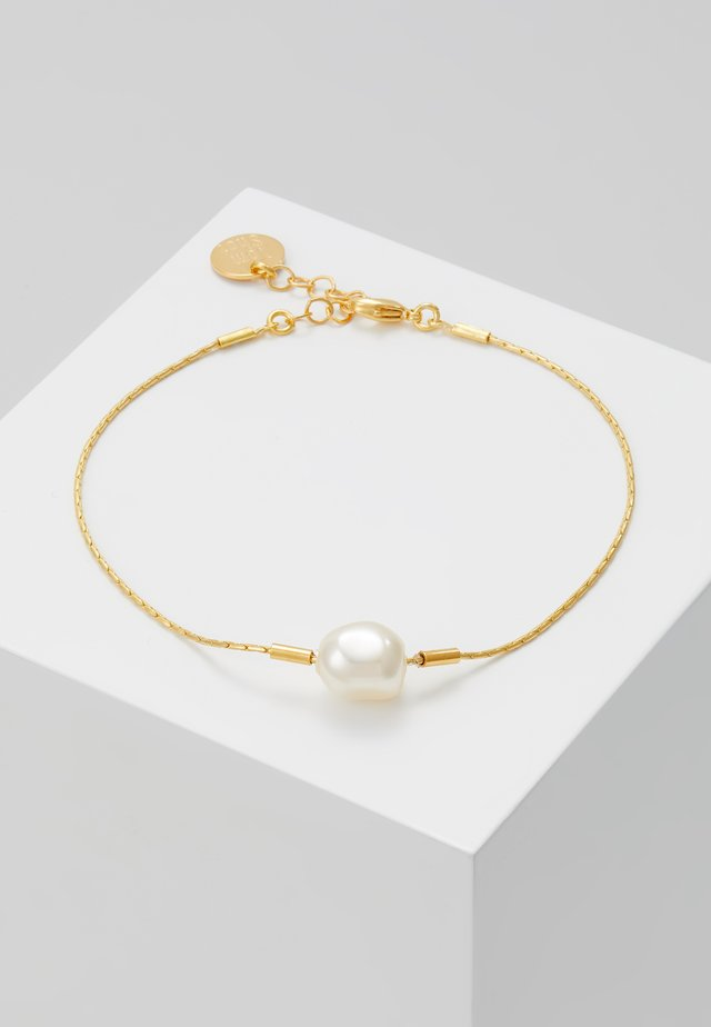 Bracciale - gold-coloured/white