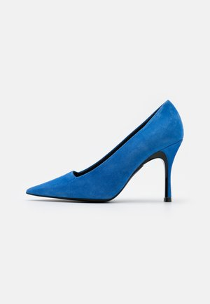 CODE DECOLLETE' T - Zapatos altos - bluette/nero