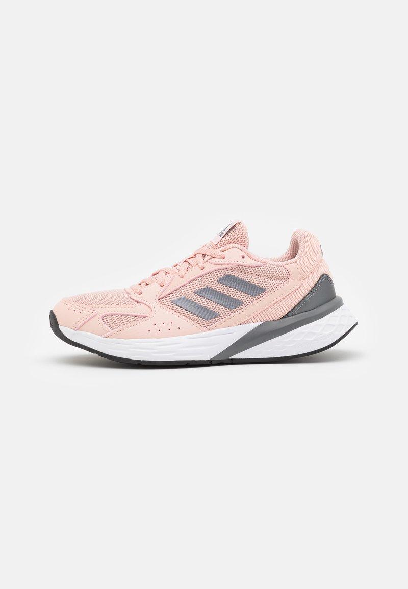 adidas Performance - RESPONSE RUN - Neutrální běžecké boty - vapour pink/iron metallic/core black