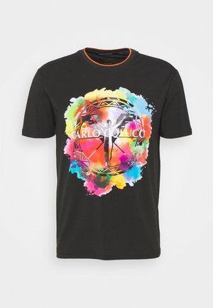 UNISEX - Print T-shirt - black