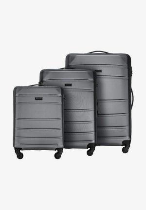 SET - Wheeled suitcase - grau