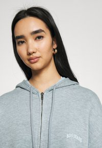 BDG Urban Outfitters - ZIP THROUGH HOODIE - Hettejakke - blue - 3