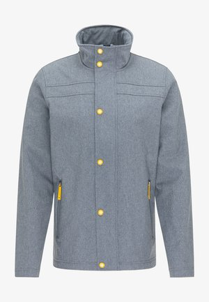 Outdoor jacket - dunkelmarine melange