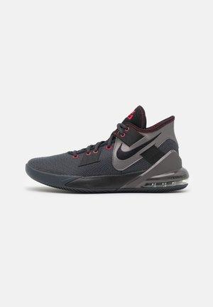 AIR MAX IMPACT 2 - Basketbalové boty - anthracite/black/metallic dark grey/gym red