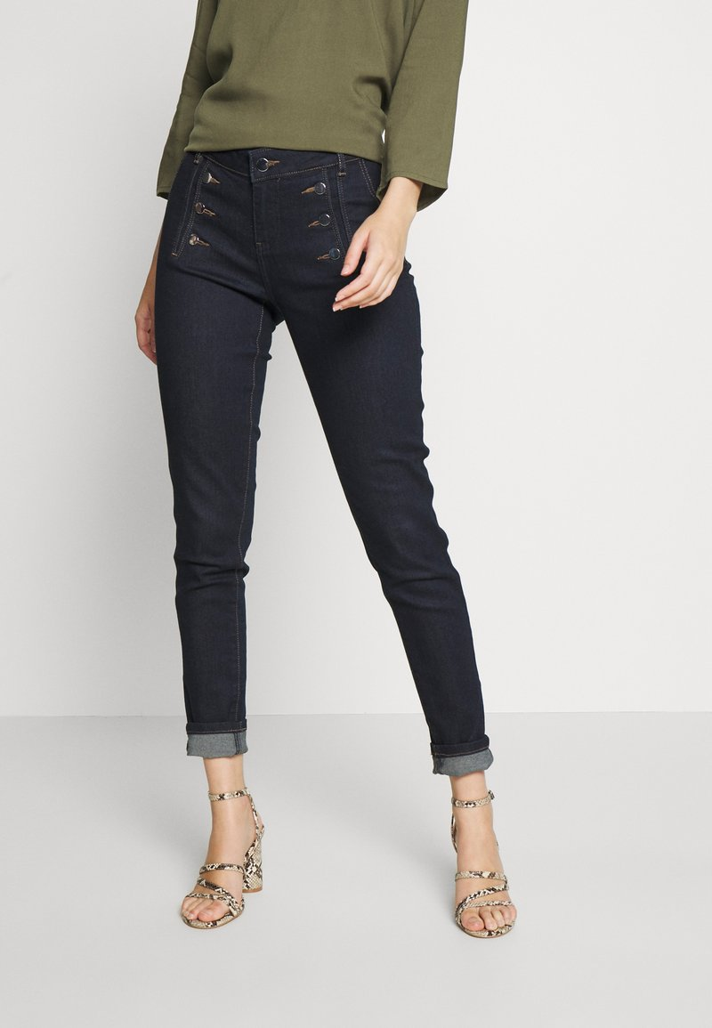 Morgan - PLAGE - Jeans Skinny Fit - blue denim