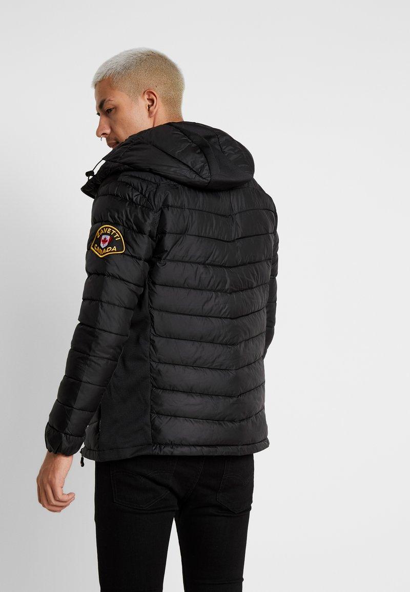 Alessandro Zavetti - AMIATA PADDED JACKET - Light jacket - black