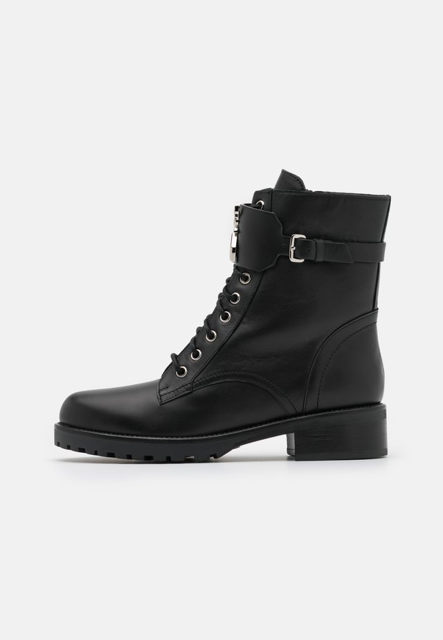 STIVALI BOOTS - Bottines à lacets - nero