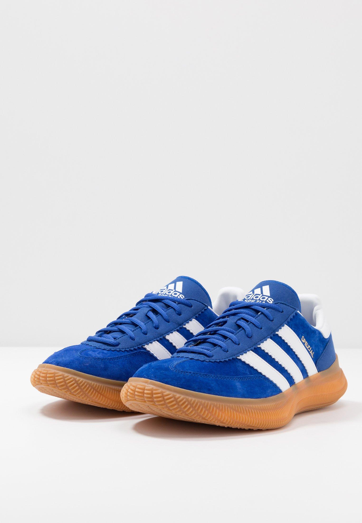 adidas Performance SPEZIAL BOOST - Handballschuh - royal/footwear white/gold metallic/blau - Herrenschuhe wkOYP