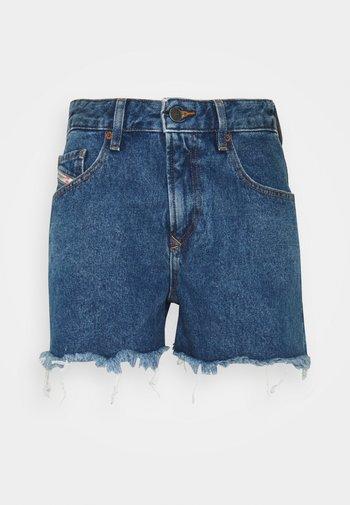 DE-REG-R - Jeansshorts - denim blue