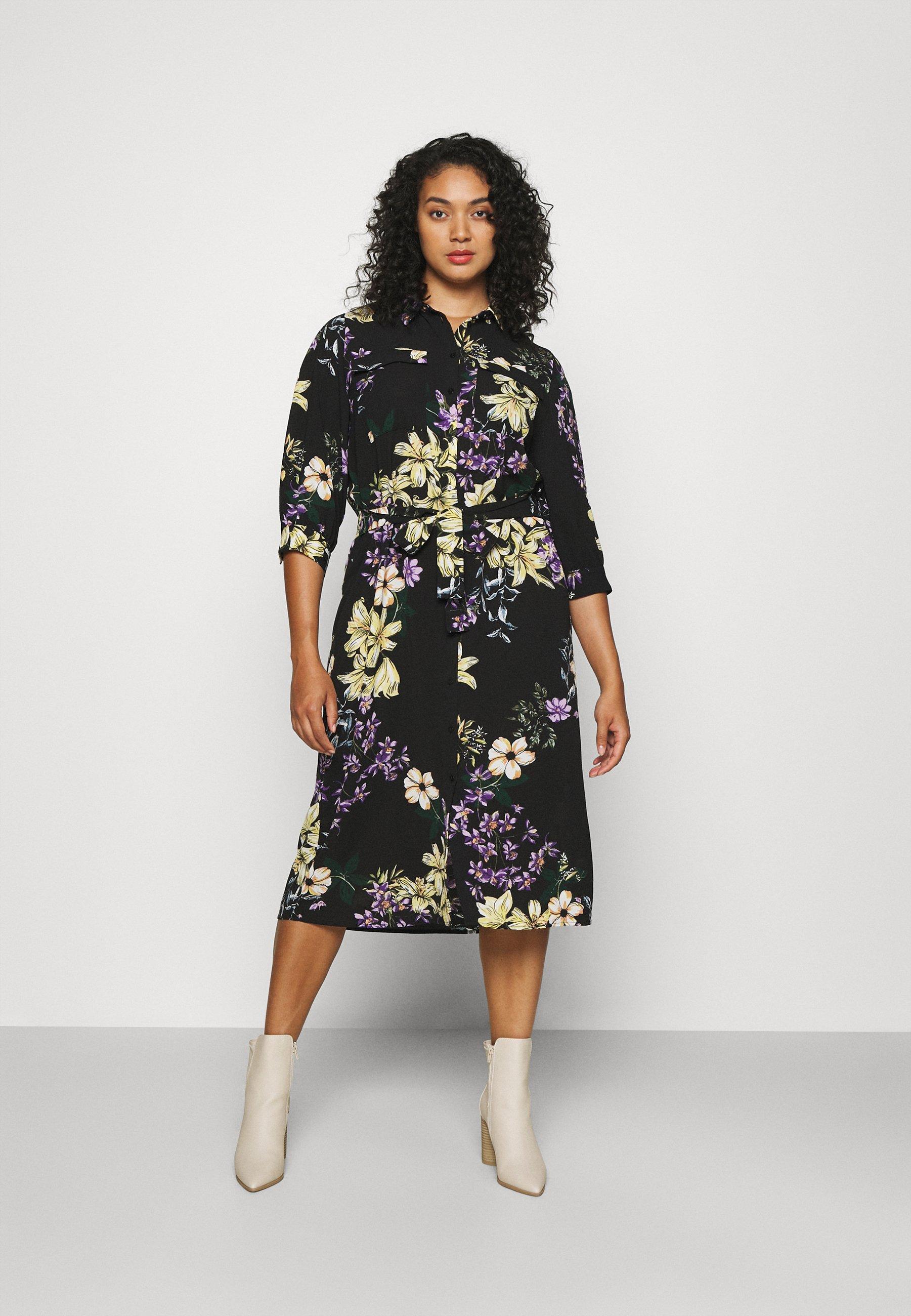 Women CARNOVA LONG SHIRT DRESS - Day dress