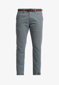 Dstrezzed - PRESLEY PANTS WITH BELT - Chino - grey - 4