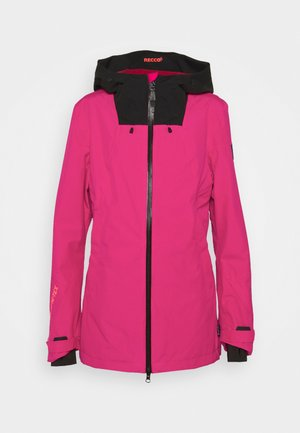 MISS SHRED JACKET - Chaqueta de snowboard - cabaret
